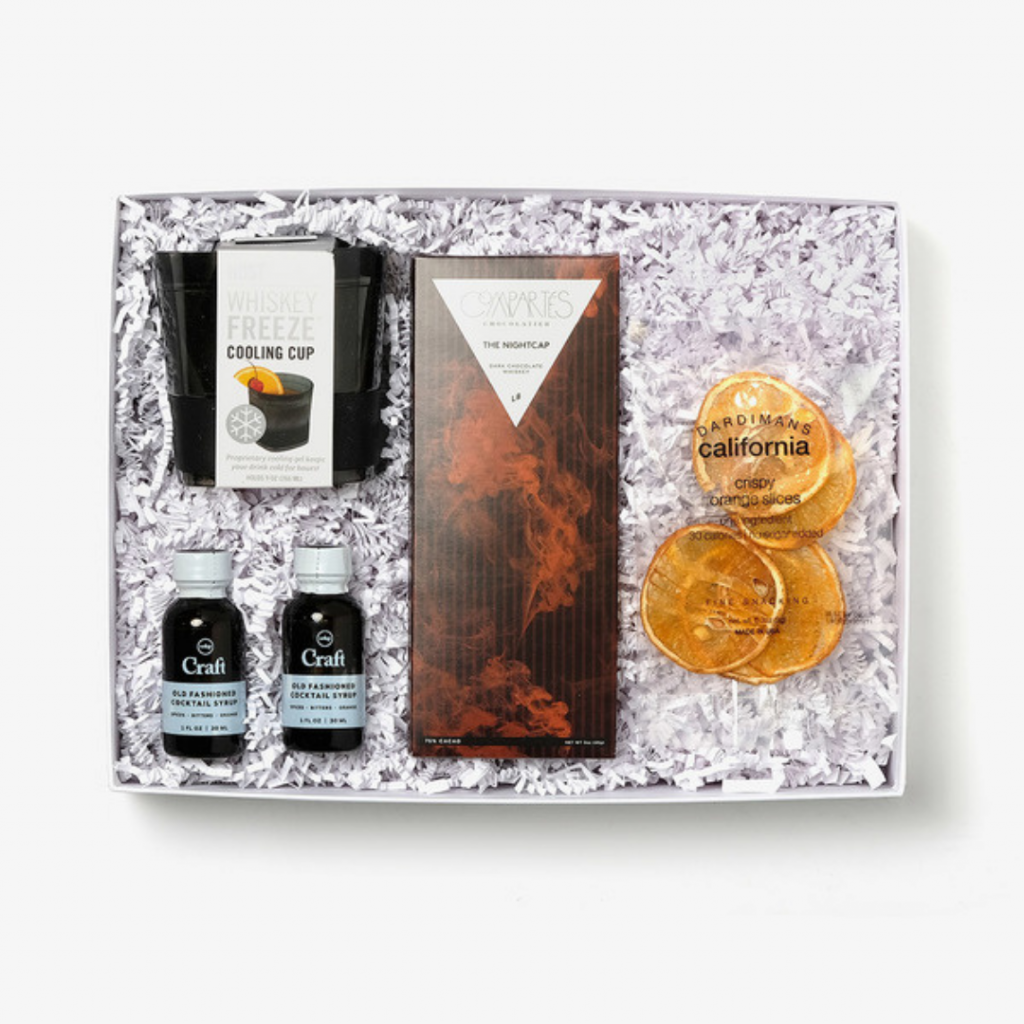 old fashioned cocktail kit gift box set